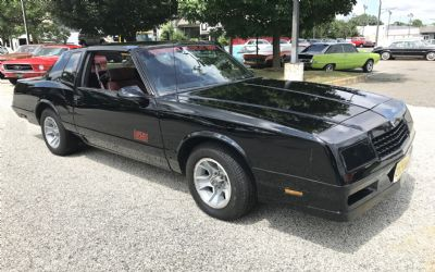 1987 Chevrolet Sorry Just Sold!!!! Monte Carlo SS Aero Coupe T-TOPS