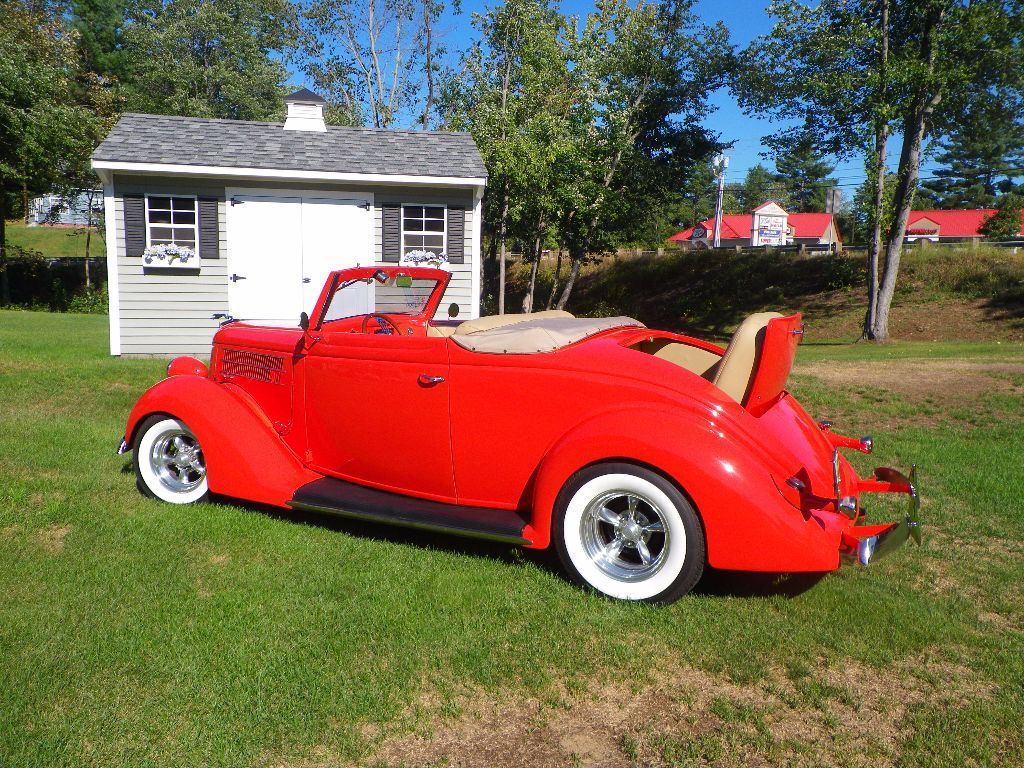 1936 DELUXE CABRIOLET HOT ROD Thumbnail 1