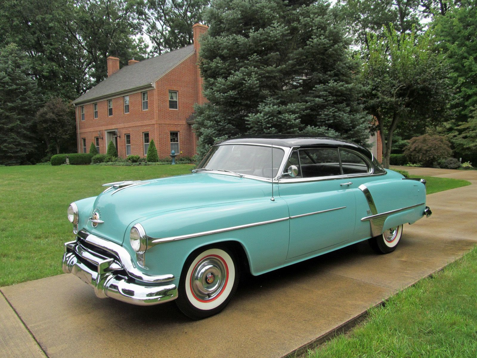 1951 Oldsmobile Super 88 Deluxe Holiday Coupe For Sale Buick Skylark Convertible Thumbnail 1
