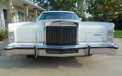 1979 Lincoln Town Car 2 DR. Coupe