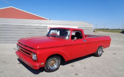 1962 Ford Unibody Pickup ST Rod