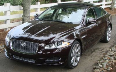 2011 Jaguar XJ8L 4 DR. Sedan