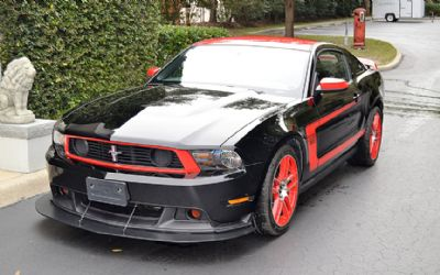 2012 Ford Mustang Boss 302 Laguna Seca Edition