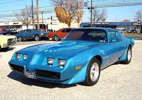 1980 PONTIAC TRANS AM T TOPS For Sale | AllCollectorCars.com