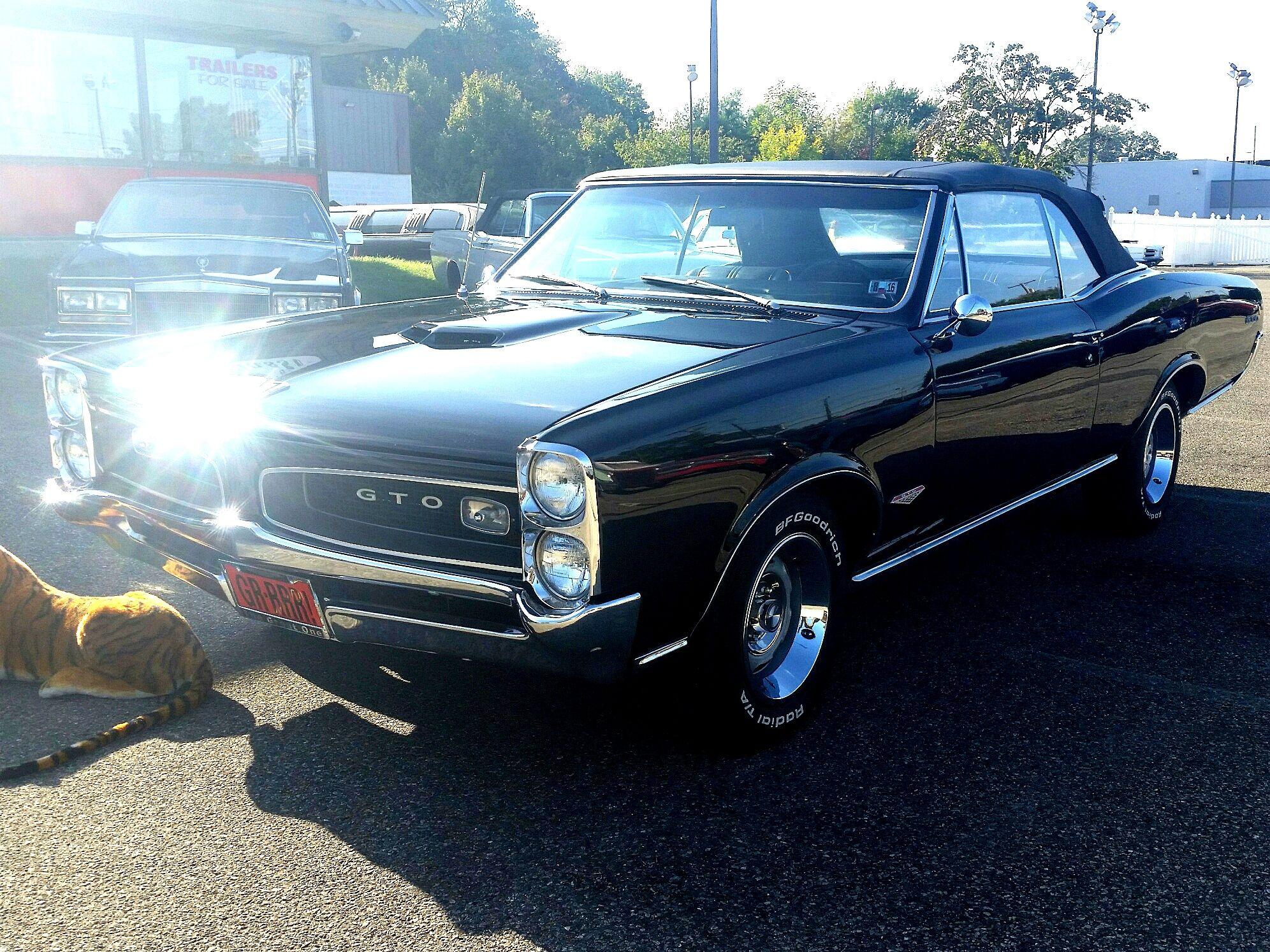 1966 PONTIAC GTO 8