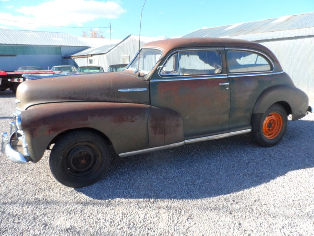1947 Chevrolet Fleetmaster 2 Door Sedan For Sale 1949 Chevy Delivery 1 38