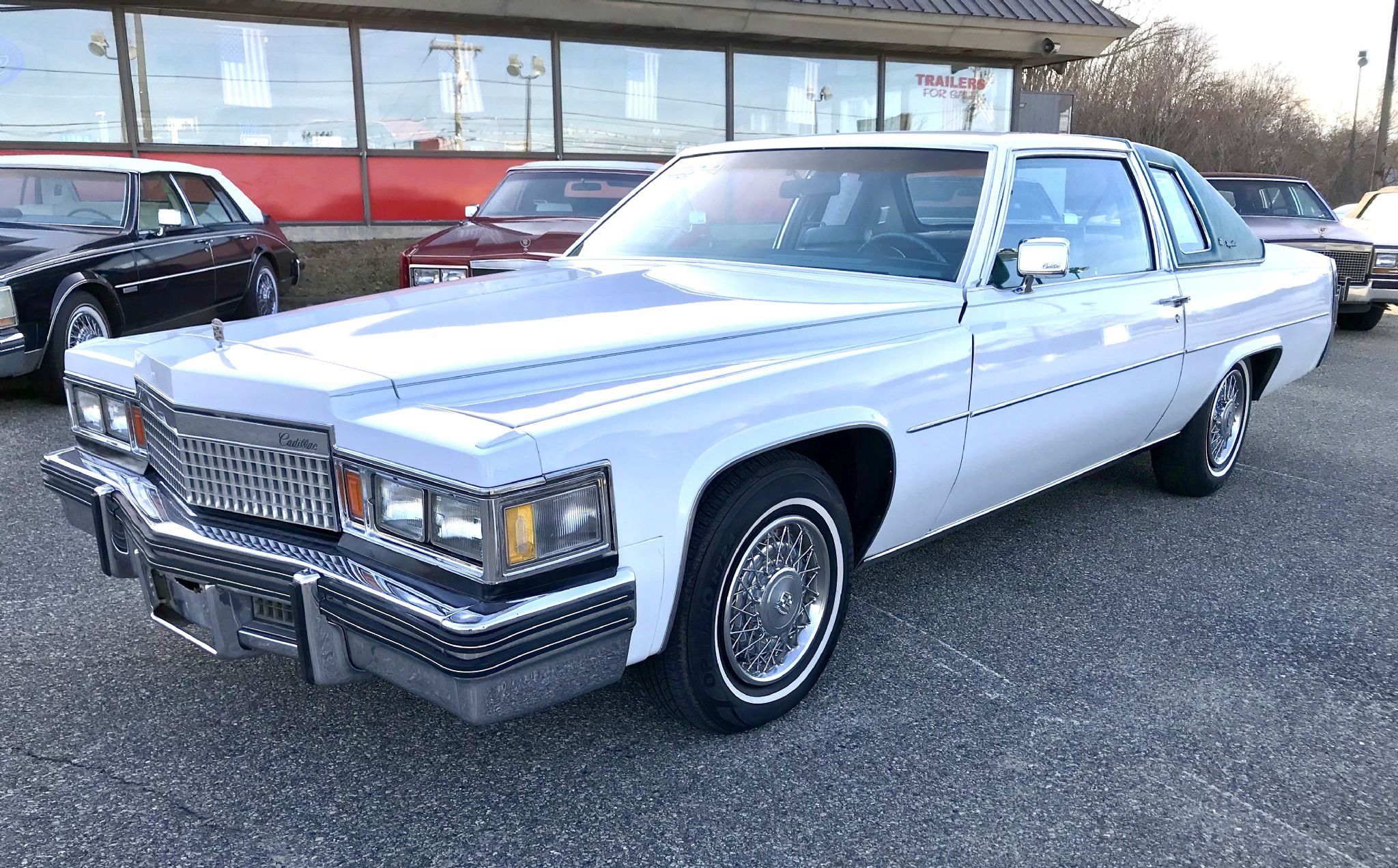 1979 Cadillac Coupe Deville Half Top For Sale | AutaBuy.com