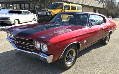 1970 Chevrolet Sorry Just Sold!!! Chevelle SS 396 Stick