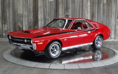 1970 AMC AMX 4SPD AC Restored