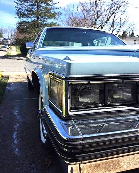 1978 CADILLAC COUPE DEVILLE CUSTOM HALF TOP For Sale