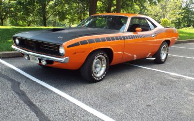 1970 Plymouth AAR Cuda Coupe