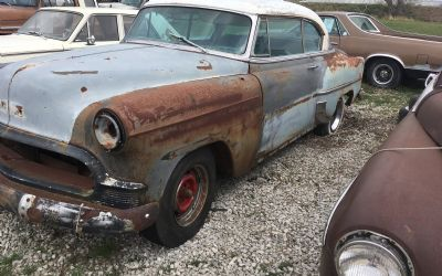1953 Chevy 210 2 Door Hardtop