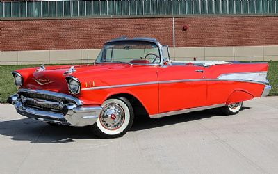 1957 Chevrolet Bel Air 2 DR. Convertible