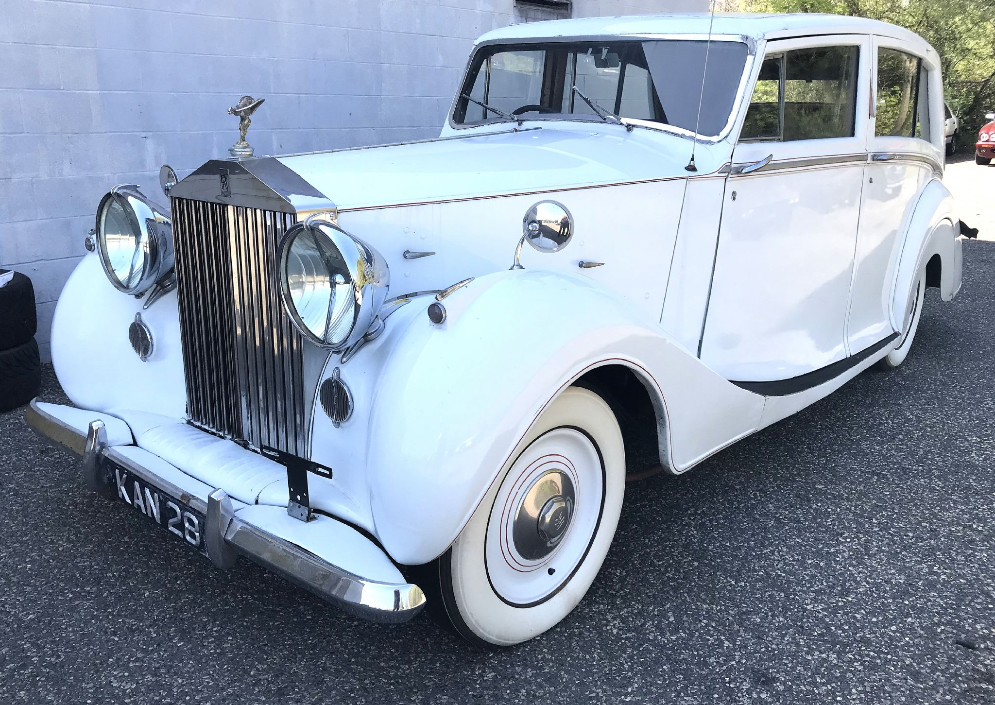 1948 ROLLS-ROYCE SILVER WRATH 1