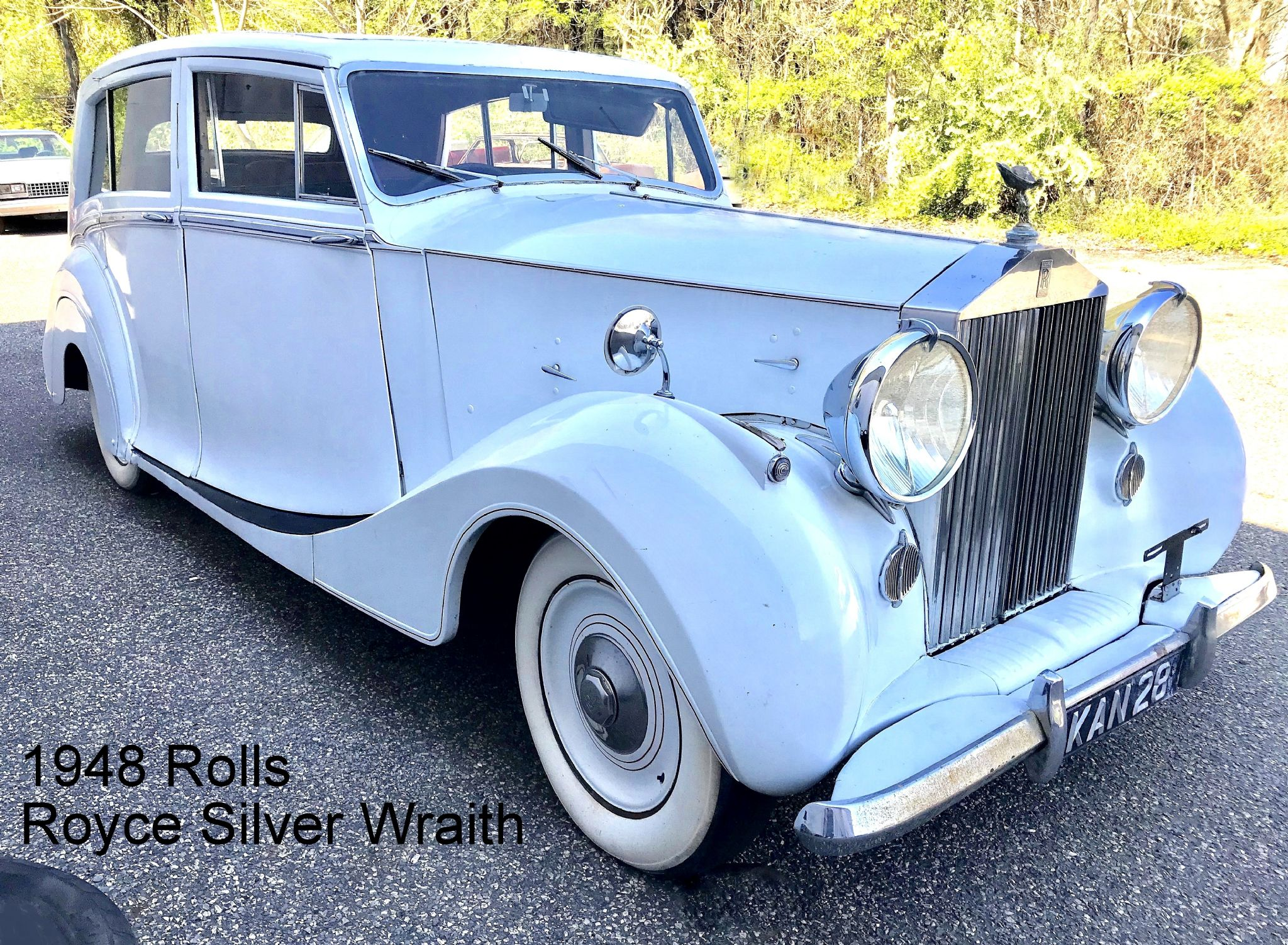 1948 ROLLS-ROYCE SILVER WRATH 7