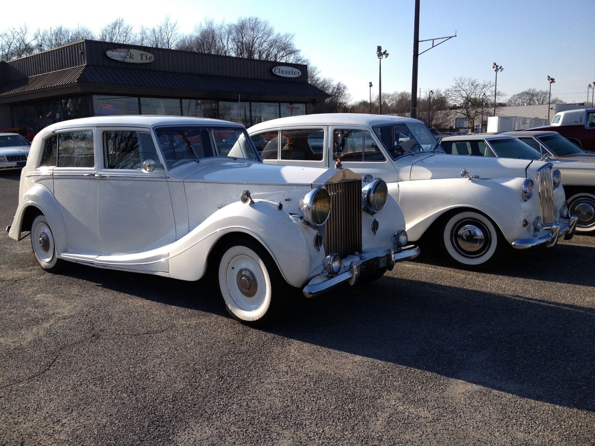 1948 ROLLS-ROYCE SILVER WRATH 16