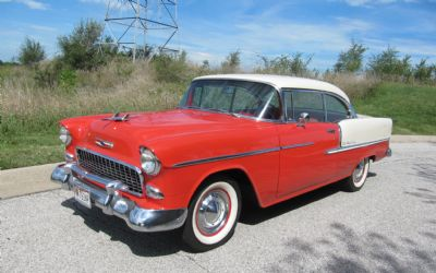 1955 Chevrolet Bel Air Sport Coupe Factory Air Conditioning