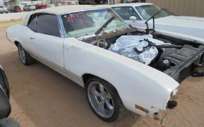 1970 Buick Skylark Convertible Parts Car