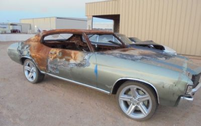 1972 Chevrolet Chevelle 2 DR. Hardtop Parts Car
