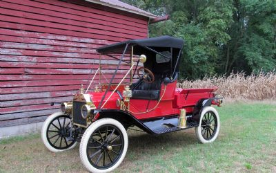 1912 Ford Model T Runabout Convertible With Pickup BOX