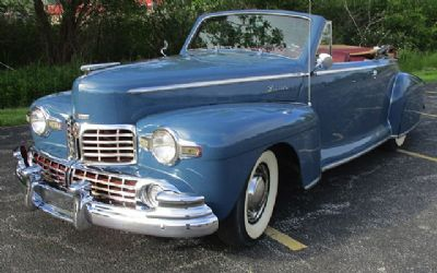 1948 Lincoln Convertible Coupe