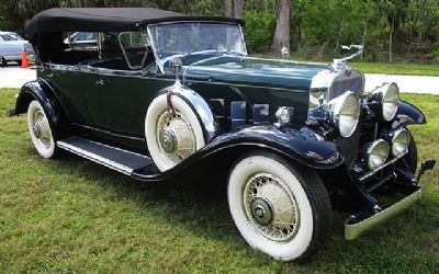 1931 Cadillac V8 Series 355A Dual Windshield Phaeton