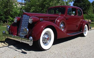 1936 Packard V12 Coupe