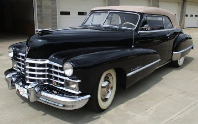 1947 Cadillac Coupe Series 62 Convertible