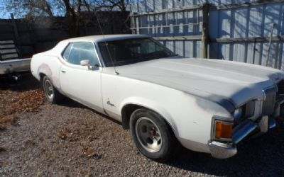 1972 Mercury Cougar 2 Door Hardtop