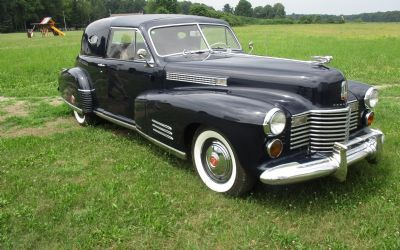 1941 Cadillac Series 62 Opera Coupe