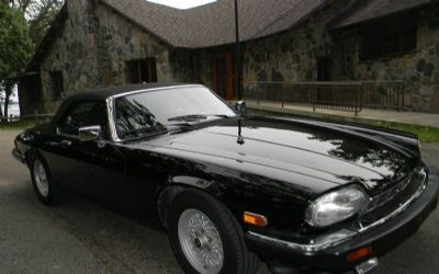 1990 Jaguar Xj-Series Soft Top Roadster