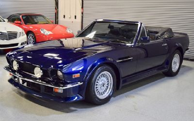 1988 Aston Martin Vantage Volante Wide Body Convertible