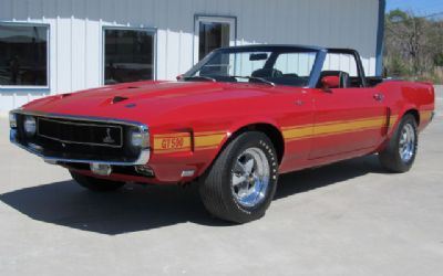 1969 Ford Mustang Shelby GT500 Convertible