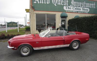 1968 Shelby GT 500 KR Convertible Convertible