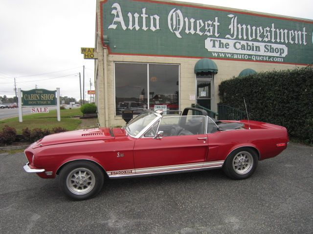 1968 SHELBY GT 500 KR CONVERTIBLE