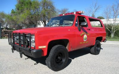 1985 Chevrolet Military Truck 1/2 Ton Nominal