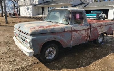1962 Ford 1/2 Ton Shortbox Pick-Up