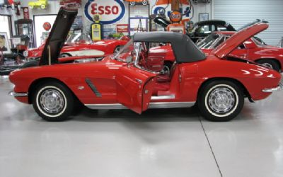1962 Chevrolet Corvette Red ON Red/340hp Duntov