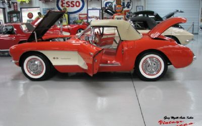 1957 Chevrolet Corvette Venetian Red Fuelie
