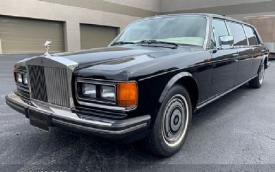 1987 Rolls-Royce Silver Spur Limo
