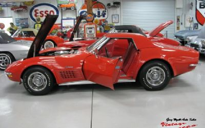 1970 Chevrolet Corvette Convertible Survivor Red/Red LT-1