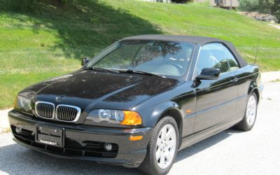 2000 BMW 323 CI Convertible Sport-1 Owner