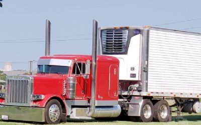1996 Peterbilt 379 Semi Tractor And Trailer