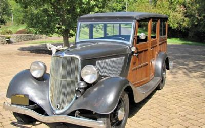 1933 Ford Model 40 Woody Wagon