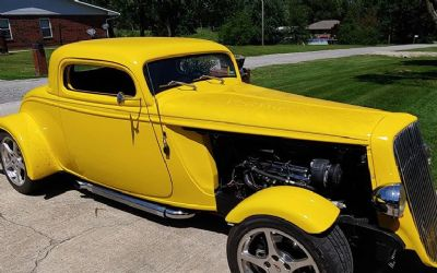 1934 Ford Coupe Resto