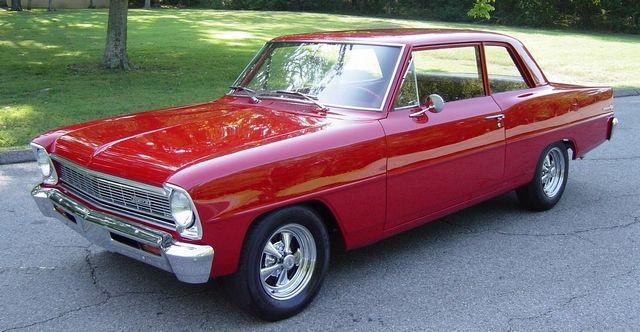 1966 CHEVROLET NOVA CHEVY II 1