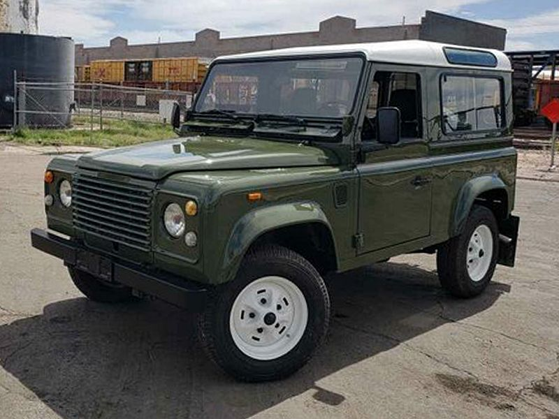 1989 LAND ROVER ITALIAN DEFENDER