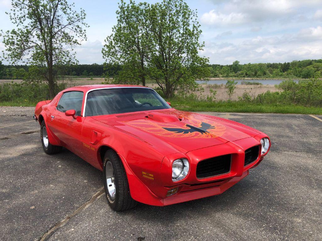 1973 Pontiac Firebird 455 For Sale Autabuy Com