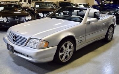 2002 Mercedes-Benz SL500 Silver Arrow Limited Edition Convertible