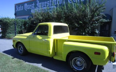 1970 Chevrolet C10 Step Side Pick UP